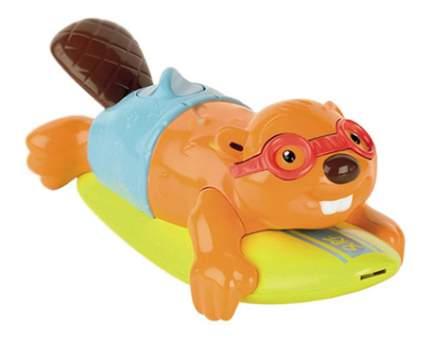 Интерактивная игрушка для купания TOMY Бобер-серфингист
