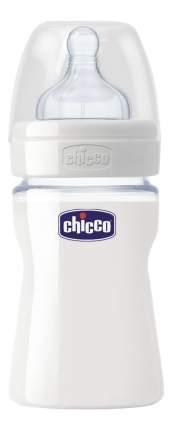 Детская бутылочка Chicco Well-Being Glass силикон соска с 0 мес 150 мл