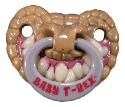 Силиконовая пустышка ортодонтическая Billy Bob Baby T-Rex