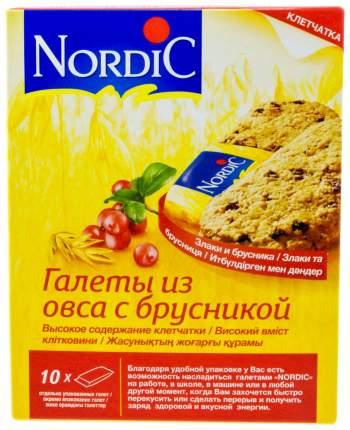 Галеты Nordic из овса с брусникой 30 г 10 штук