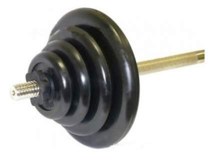 Штанга MB Barbell, гриф прямой 150 см, 50 кг, 25 мм