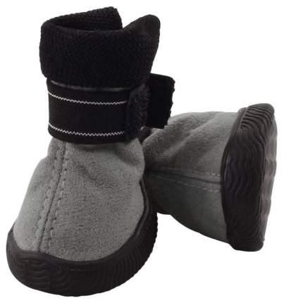 Обувь для собак Triol размер S, 4 шт серый
