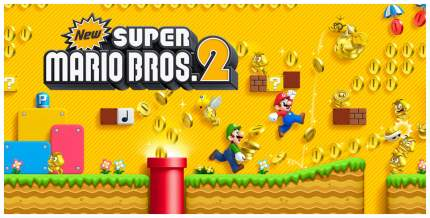 Игра New Super Mario Bros 2 для Nintendo 3DS