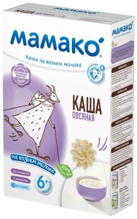 Каша молочная Мамако Овсяная на козьем молоке с 6 мес. 200 г