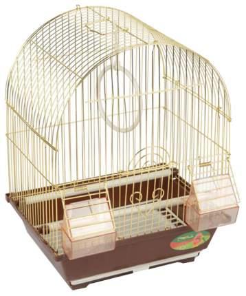 Клетка для птиц Triol 2100A для птиц 30х23х39 см, Фиолетовая решетка/фиолетовый поддон