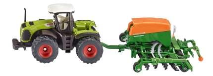 Масштабный трактор Siku с сеялкой 1:87 1826