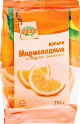 Мармеладные дольки Глобус со вкусом апельсина 254 г