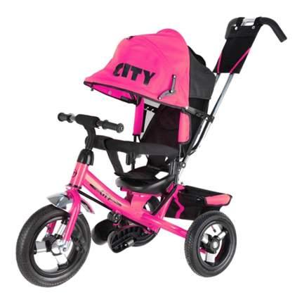Велосипед трехколесный City розовый