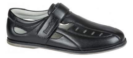 Туфли Mursu Открытые на липучке черные р.41