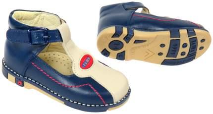 Туфли Таши Орто синие с бежевым