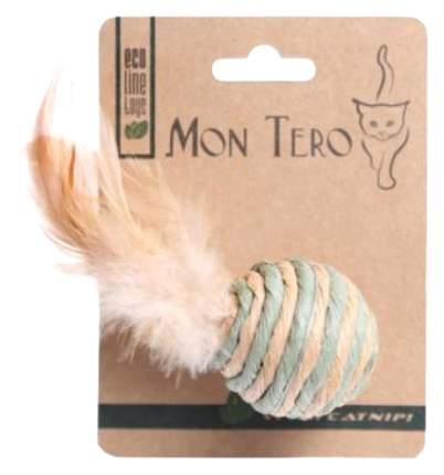 Игрушка для кошек Мон Теро ЭКО ХНС-2152 Бочонок с хвостиком
