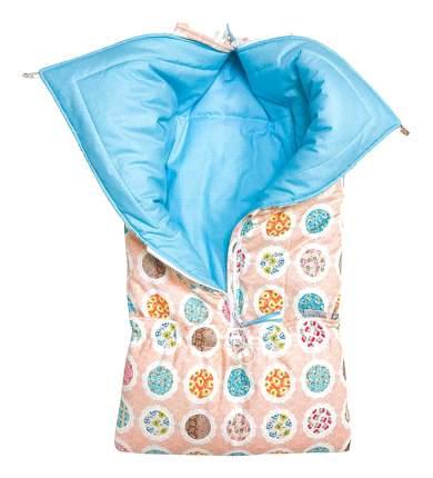 Конверт для новорожденных Персиковый Little Kiddy LK-00018