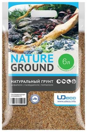 Песок UDeco River Amber 0,4-0,8 мм 6л
