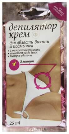 Крем для депиляции Фитокосметик с экстрактом ромашки Быстрое удаление 25 мл