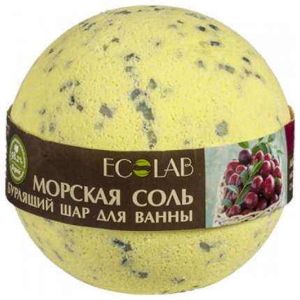 Бомбочка для ванн Ecolab Черная смородина и клюква 220 г