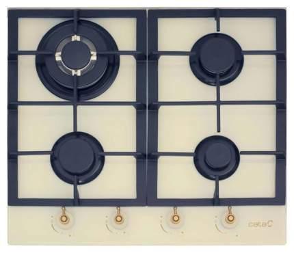 Встраиваемая варочная панель газовая CATA RCI 631 IVORY Beige