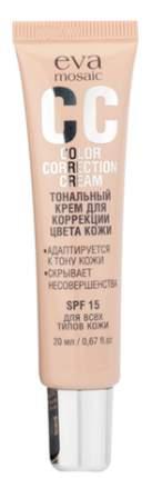 CC-Крем Eva Mosaic СС Color Correction Cream 01 - фарфор