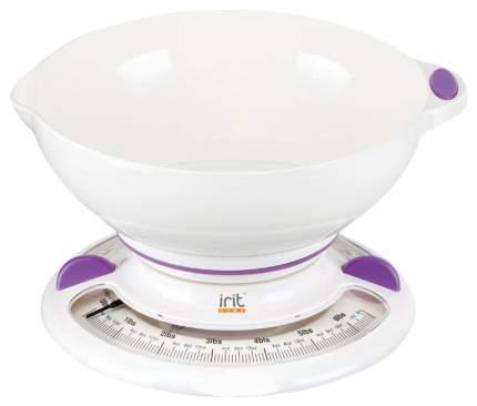 Весы кухонные Irit IR-7131 Белые; Фиолетовые