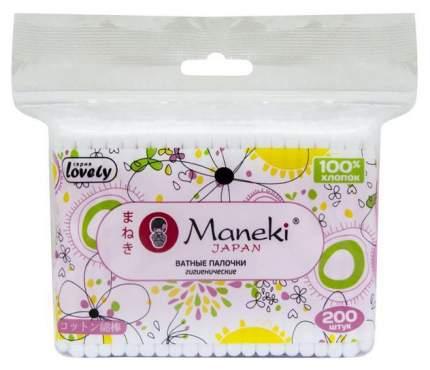 Ватные палочки Maneki Lovely Гигиенические 200 шт
