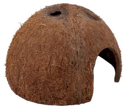 Пещера для террариума JBL Cocos Cava половинка кокоса M, 8х8х8 см
