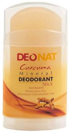 Дезодорант DeoNat Кристалл с куркумой 100 г