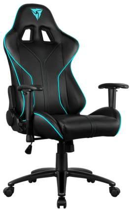Кресло компьютерное игровое ThunderX3 RC3 Black-Cyan (HEX 7 colors)