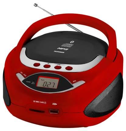 Магнитола Telefunken TF-CSRP3494B Red