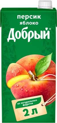 Нектар Добрый персик-яблоко 2 л