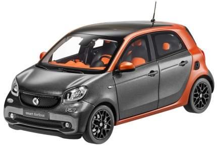 Модель Smart Forfour Prime B66960298 Scale 1:18 Graphite Grey - Copper