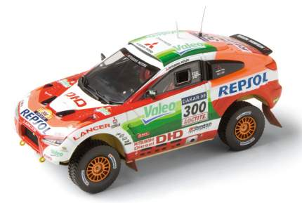 Модель автомобиля Mitsubishi Racing Lancer MME50208 Dakar 2009  1:43