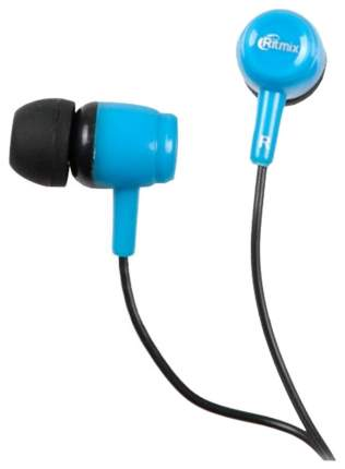 Наушники Ritmix RH-020 Black Blue