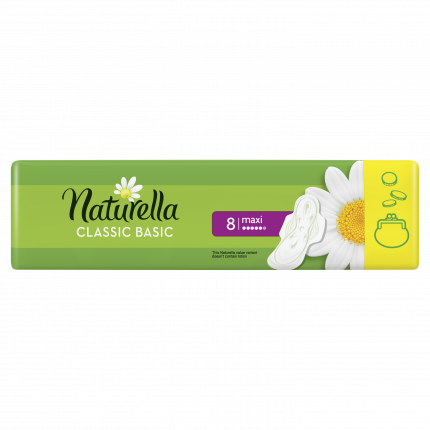 Прокладки Naturella Classic Basic Maxi 8шт