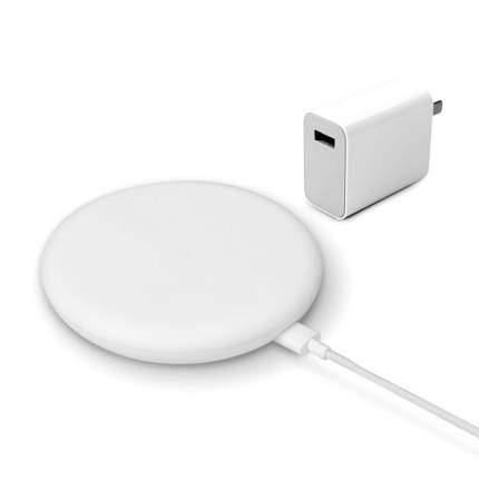 Беспроводное зарядное устройство Xiaomi Mi Wireless Charger 20W + USB Charger White