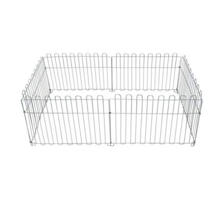 Вольер Dog Land оцинкованный, размер секции 63х73 см, 6 секций
