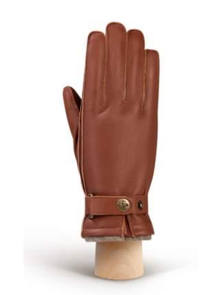Перчатки мужские Eleganzza HS200-B коричневые 8
