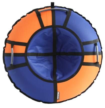 Тюбинг Hubster Хайп синий-оранжевый 100 см