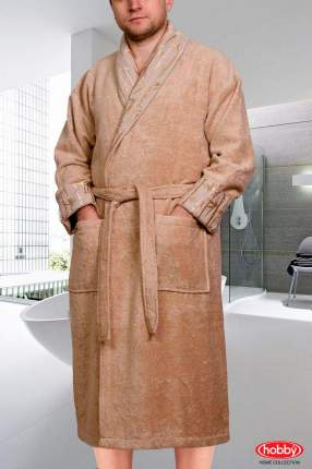 Банный халат HOBBY HOME COLLECTION Eliza Цвет: Бежевый (L)
