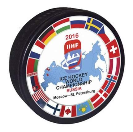 Шайба хоккейная Rubena Чемпионаты мира, Россия 2016