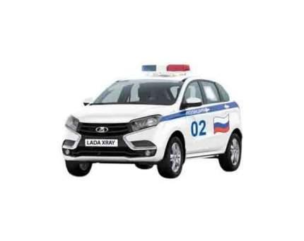 AUTOTIME Машинка Lada Xray. Полиция, 1:36 68268W-RUS