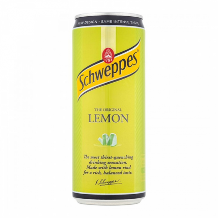 Напиток газированный Lemon 0.330 л