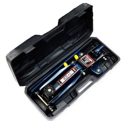 Домкрат подкатной гидравлический Forsage 2.5т низкопрофильный, в кейсе