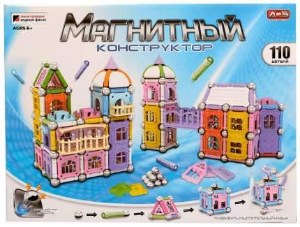 """Магнитный конструктор """"Построй свой дом"""", 110 деталей"""