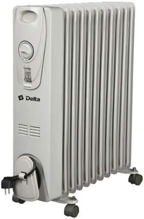 Масляный радиатор Delta D-25-11 белый