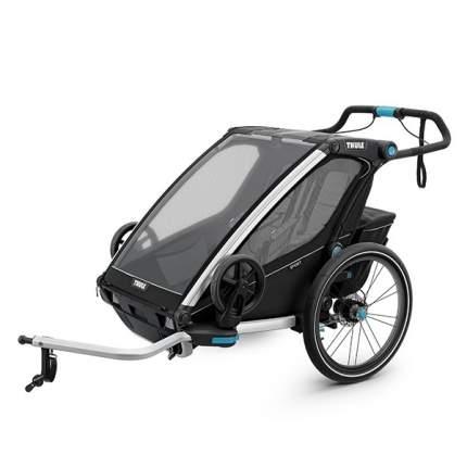 Мультиспортивная коляска Thule Chariot Sport для 2 детей, Black