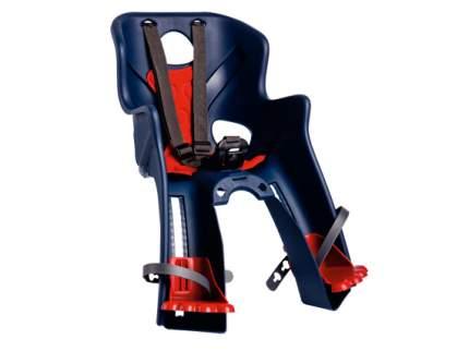 Детское велокресло переднее Bellelli Rabbit B-Fix синее/красное