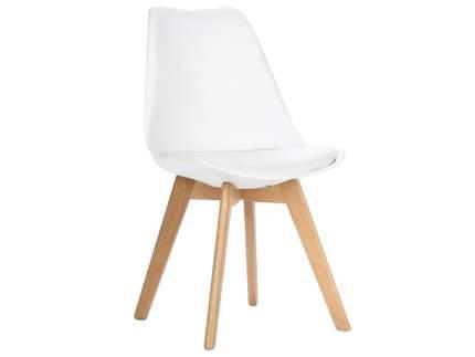 Удобный стул для кухни STOOL GROUP Стул FRANKFURT Белый