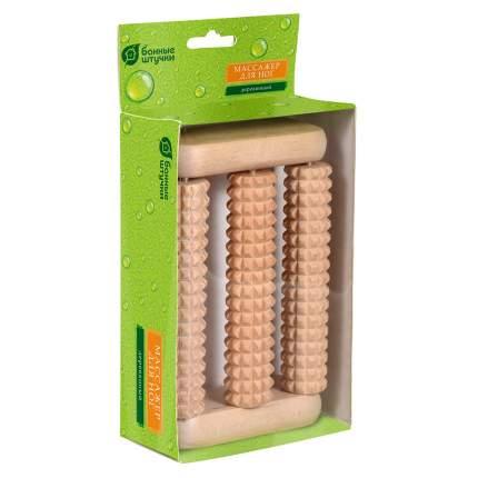 Массажёр деревянный для ног Банные штучки 14x9x4 см