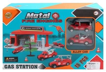 """Игровой набор """"Автозаправочная станция"""", 15 предметов"""