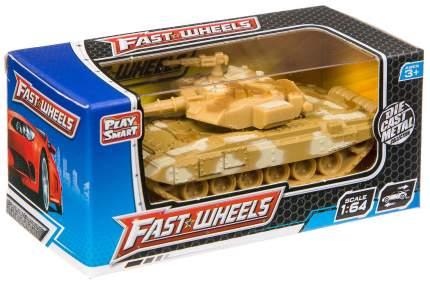 Танки и БТР Play Smart Fast Wheels 1:64, в ассортименте