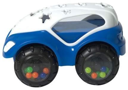 Машинка-неразбивайка, бело-синяя